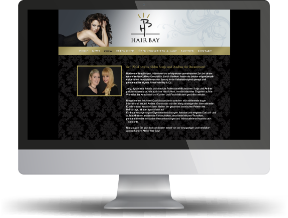 website haarstudio hairbay