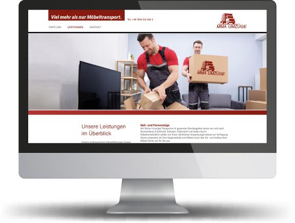 website mma umzüge