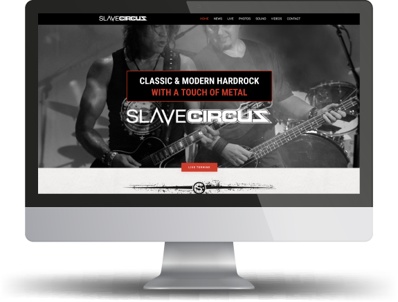 website band slavecircus