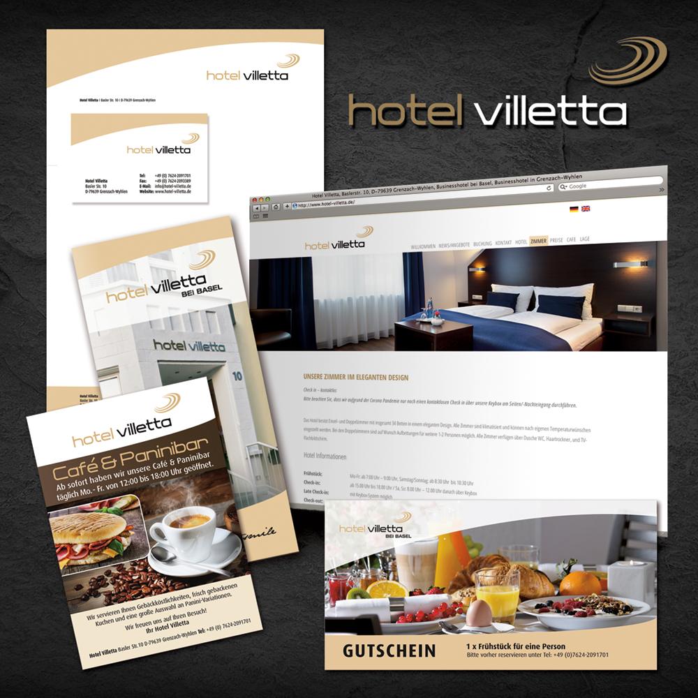 Corporate Design erstellen für Hotel und Gastronomie