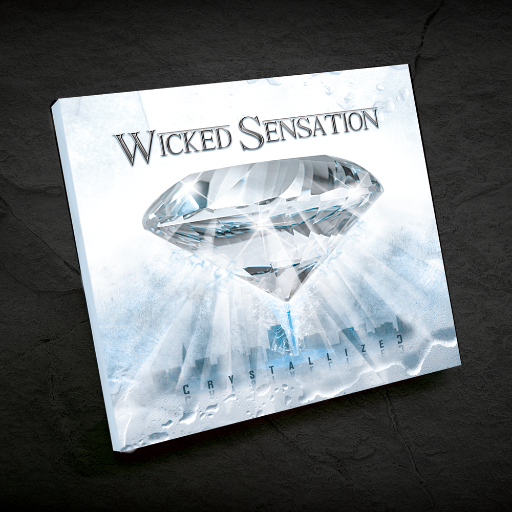 CD Cover Gestaltung Band Wicked Sensation