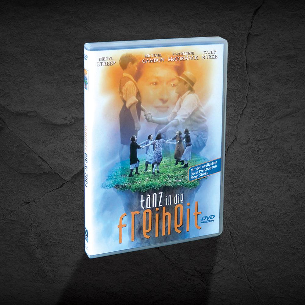DVD Covergestaltung Meryl Streep Tanz in die Freiheit
