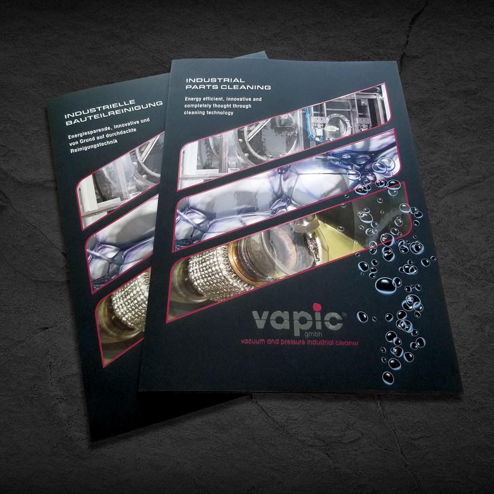 Messeprospekt Firma Vapic